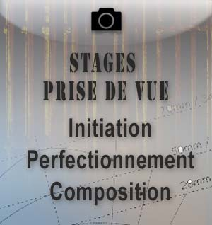 stages photo initiation et perfectionnement