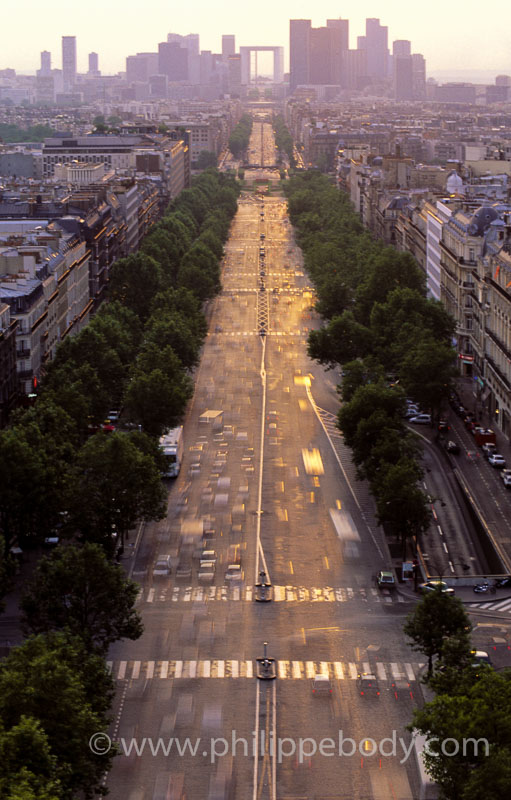 TRAFIC ROUTIER, PARIS, FRANCE