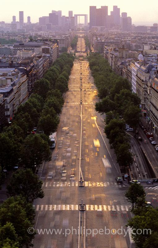 TRAFIC ROUTIER, PARIS, FRANCE