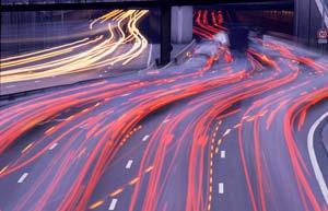 vitesse _ filé de voiture - stage photo