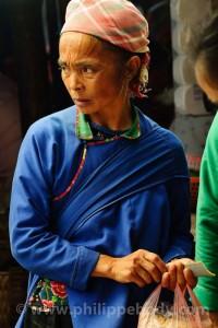 stage photo au Vietnam - femme nung