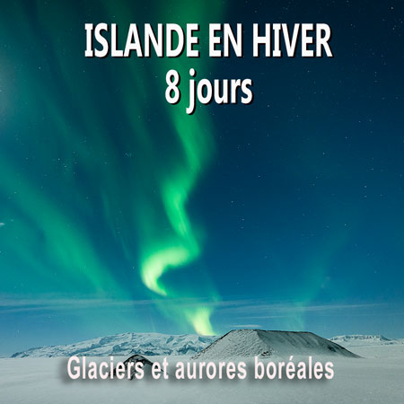 sejour photo islande en hiver