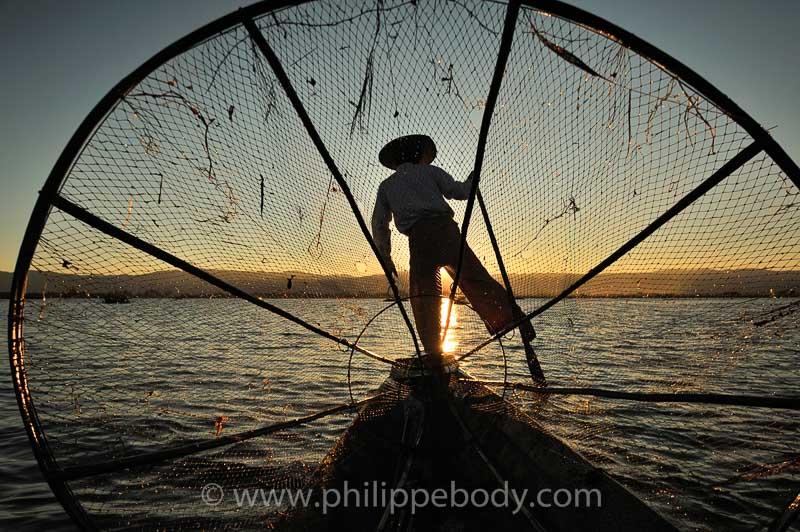 pêcheur Intah - Lac Inle
