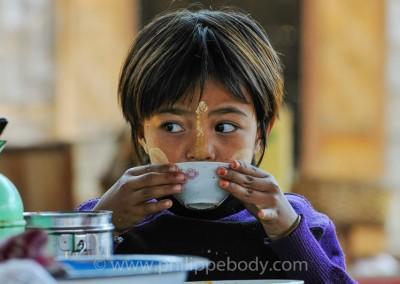 Petit déjeuner - Thé au lait