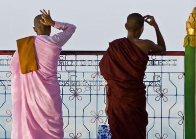 Sagaing - Monastère
