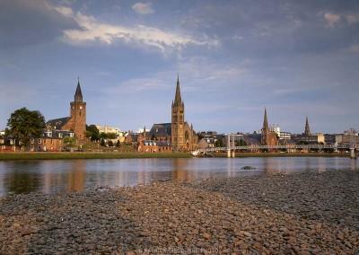Inverness et rivière Ness -  Voyage Ecosse