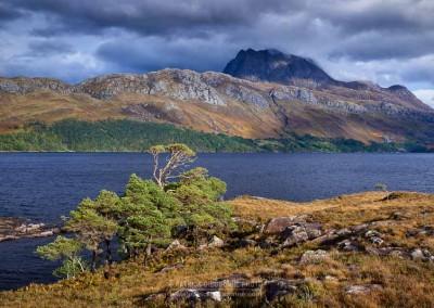 Loch Mareee et mont Slioch - Voyage Ecosse