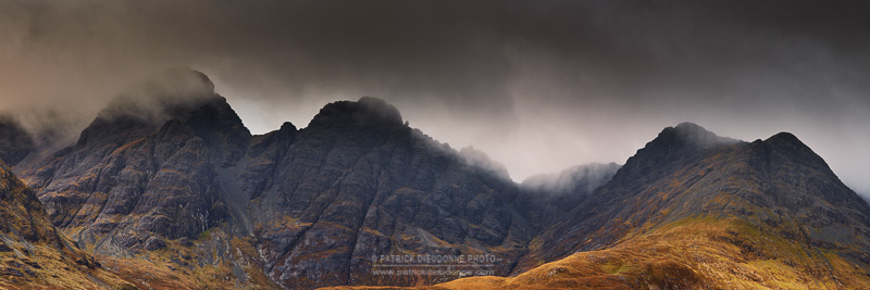 The Black Cuillins, Skye - Voyage Ecosse