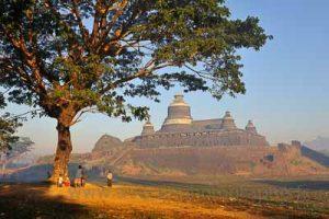 stage photo en Birmanie - Mrauk U