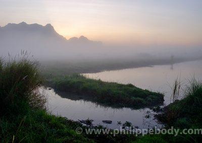 karstic landscape, Hpa An, Kayin state, Myanmar,