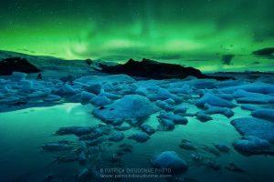 aurore boréale, voyage photo islande