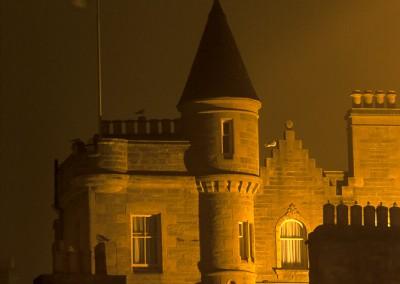 Lerwick la nuit
