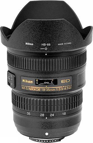 Test du 18-35 mm AF-S Nikon