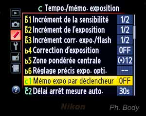 memo expo par declencheur