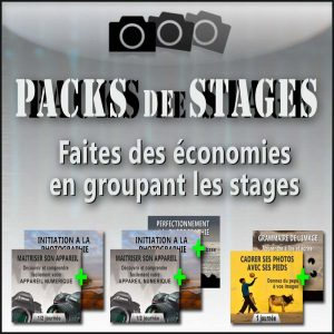 Packs de stages photo