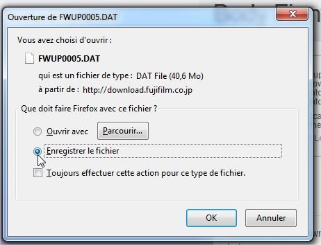 mise a jour firmware fuji XT1_04