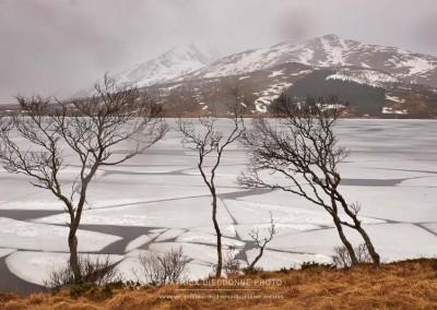 Lac gelé, Lofoten