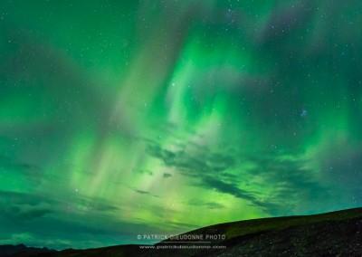Aurore boréale, Lofoten