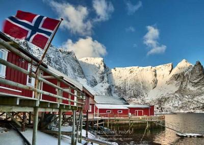 Rorbus, Reine, Lofoten, Norvège