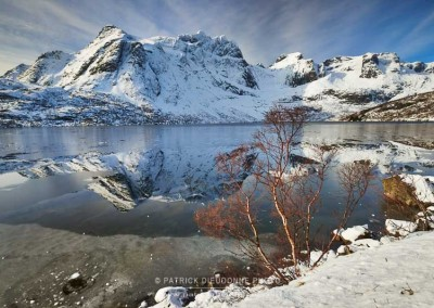 Storvatnet lake, Lofoten