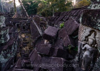 CAMBODGE, ANGKOR, TEMPLE DU PREAH KHAN//Cambodia, Angkor, Temple Of Preah Khan