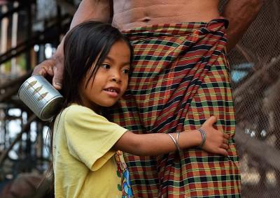 CAMBODGE, KOMPONG KLEANG, VILLAGE SUR PILOTIS // Cambodia, Kompong Kleang, Stilt Houses Village