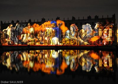 Projection au Chateau de Versailles