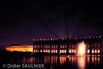 Chateau de Versailles - grandes eaux nocturnes