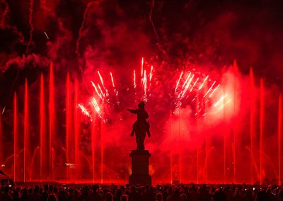 Feu d artifice a Versailles