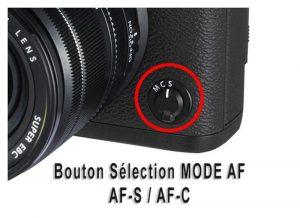 modes AF