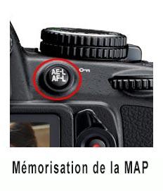 bouton AE-L / AF-L