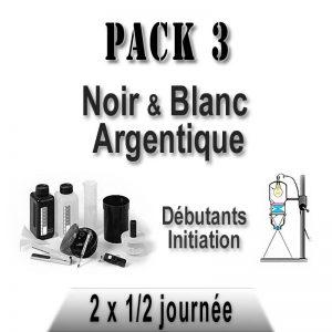 Pack stages photo noir et blanc argentique