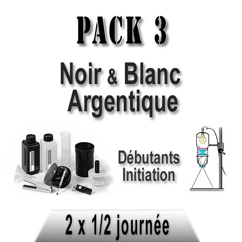 Pack stages photo noir et blanc argentique