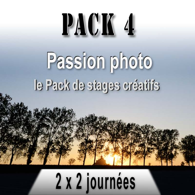 Pack de stages photo composition