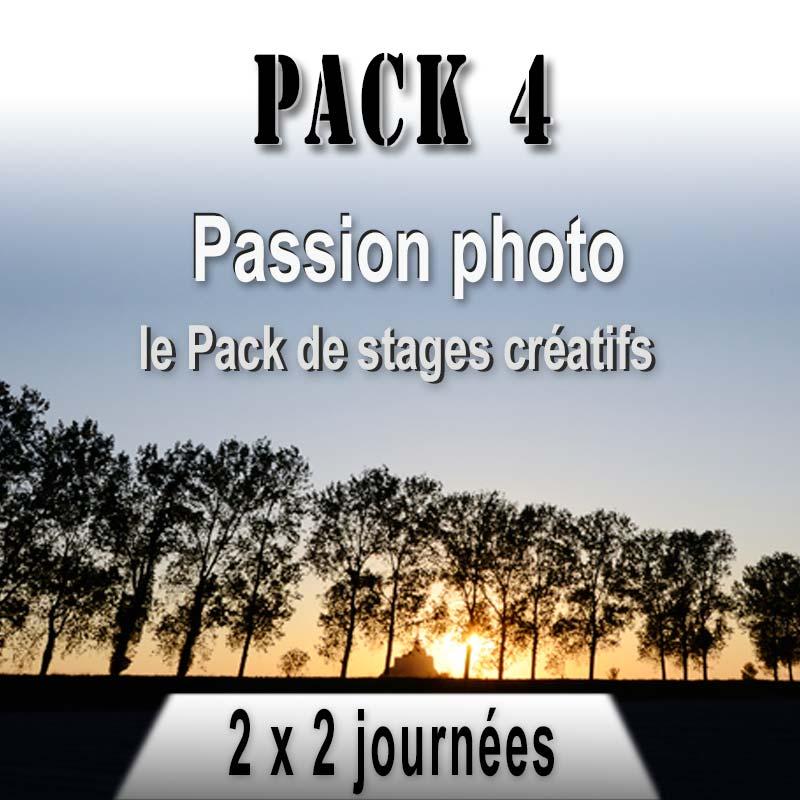 Pack de stages photo composition