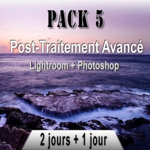 Pack de stages photo Post-Traitement
