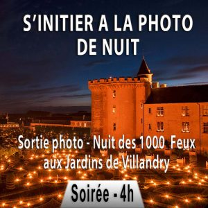 stage photo nuit en Indre et Loire