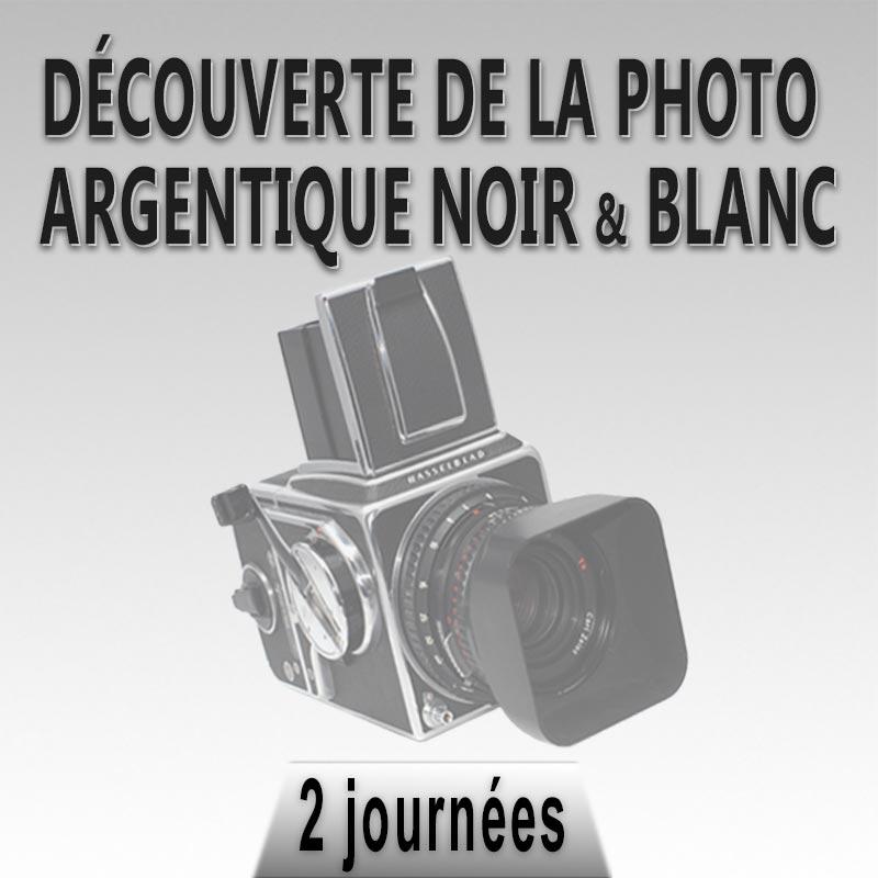 stage photo noir et blanc argentique