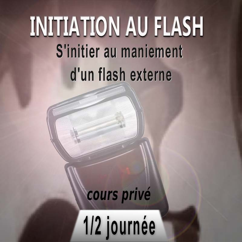 Stage photo initiation au Flash externe