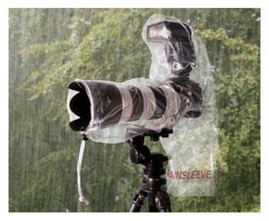 Protéger son appareil photo de la pluie