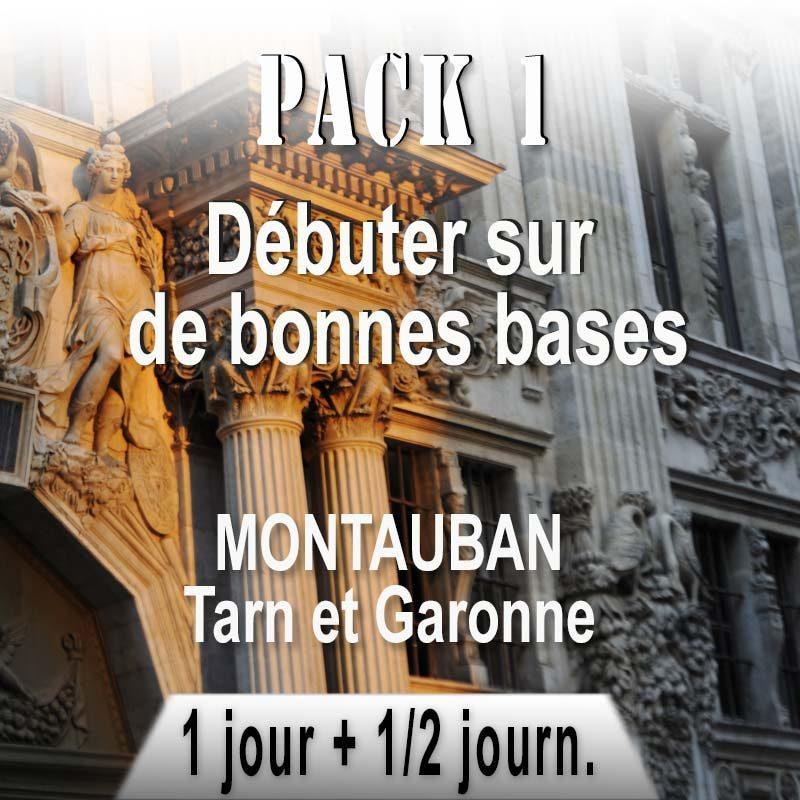 Pack de stages pour débutant à Montauban