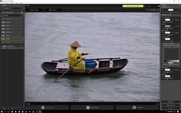 Picture control Nikon