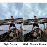 Les styles d'images et autres picture control en photo