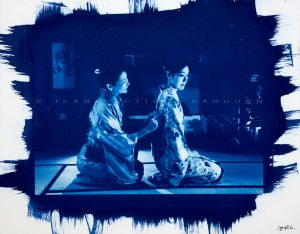 Stage photo Cyanotype