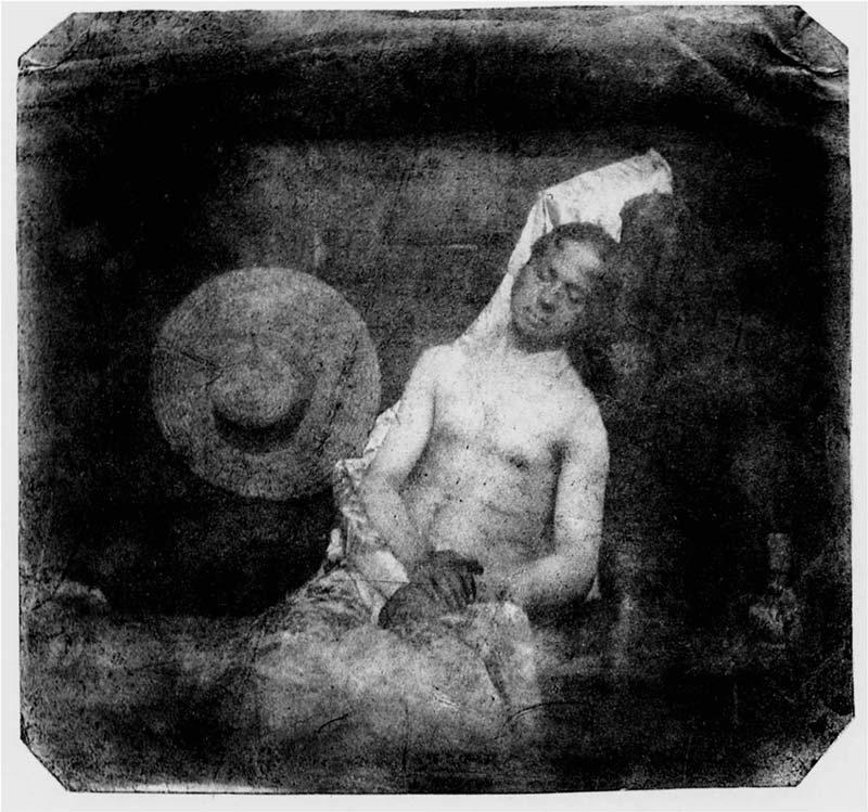 Hippolyte Bayard - Autoportrait en noyé