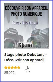 Bon cadeau stage photo - commandez en ligne