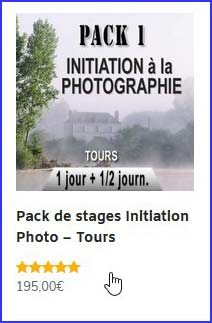 choisir un pack de stages photo