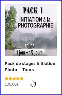choisir un pack de stages photo