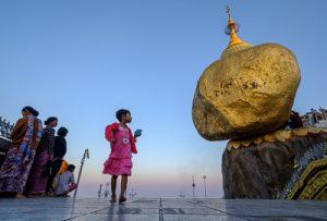 Rocher d'Or - Birmanie