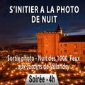 stage photo nuit en Touraine